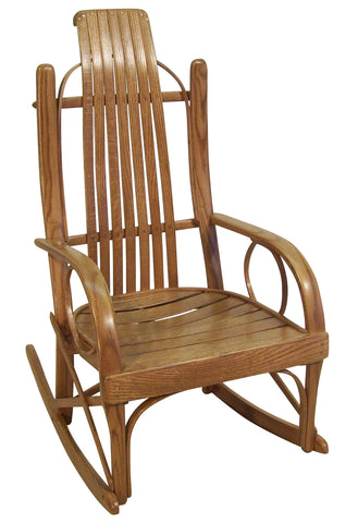 Miller Bent Oak Child's Rocker