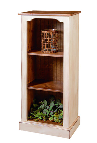 Pine Narrow Bookcase