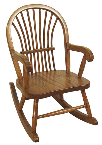 Miller Sheaf Child's Rocker