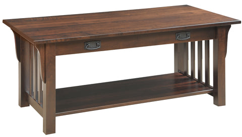 Millwood 85-86 Collection Coffee Table with Drawer