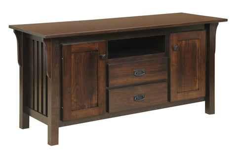 Millwood 85-86 Collection Deluxe TV Stand 2-Drawer 2-Door