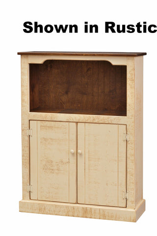 4 Ft Bookcase with Doors