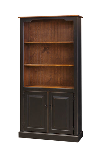 6 Ft Bookcase with Doors