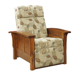 Millwood Mission 85 Panel Recliner Push Back Flat Out