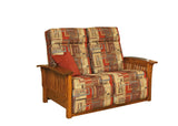 Millwood Mission 85 Wallhugger Love Seat Recliner
