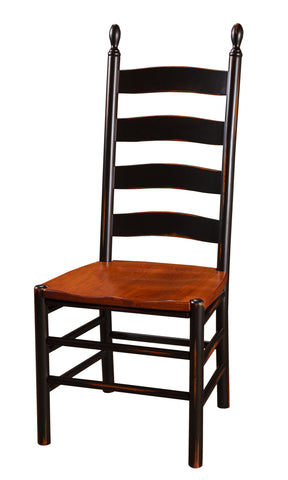 Pine Ladder Back Side Chair