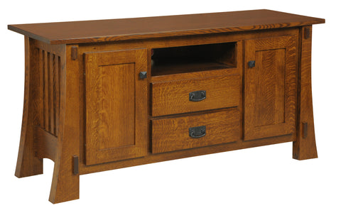 Millwood Craftsman Mission 88 TV Stand