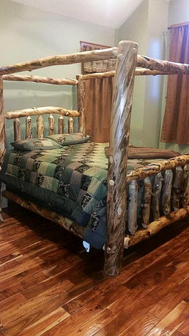 Aspen Canopy Bed.