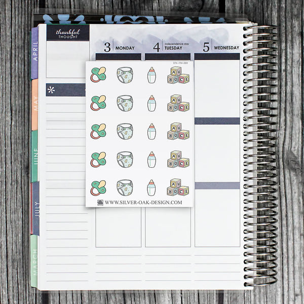 Baby Planner Stickers | ITM-089