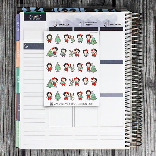 Christmas Planner Stickers | GRL-035