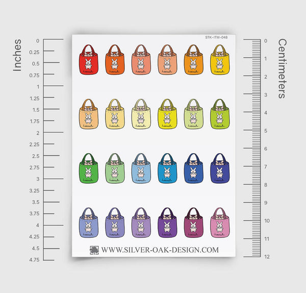 Lunch Bag Planner Stickers | ITM-048