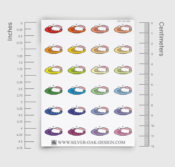 Wash Dishes Planner Stickers | ITM-029