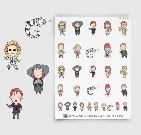 BugJuice Parody Movie Planner Sticker | CHA-011