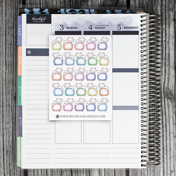 TV Show Reminder Planner Stickers | Television | CAT-003