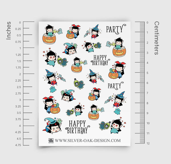 Party Planner Stickers | WLW-009