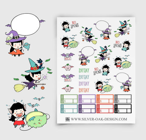 Budget Planner Stickers | WLW-004