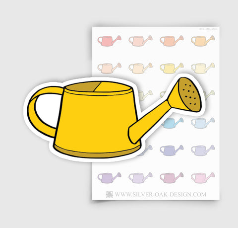 Garden Watering Can Planner Stickers | ITM-004