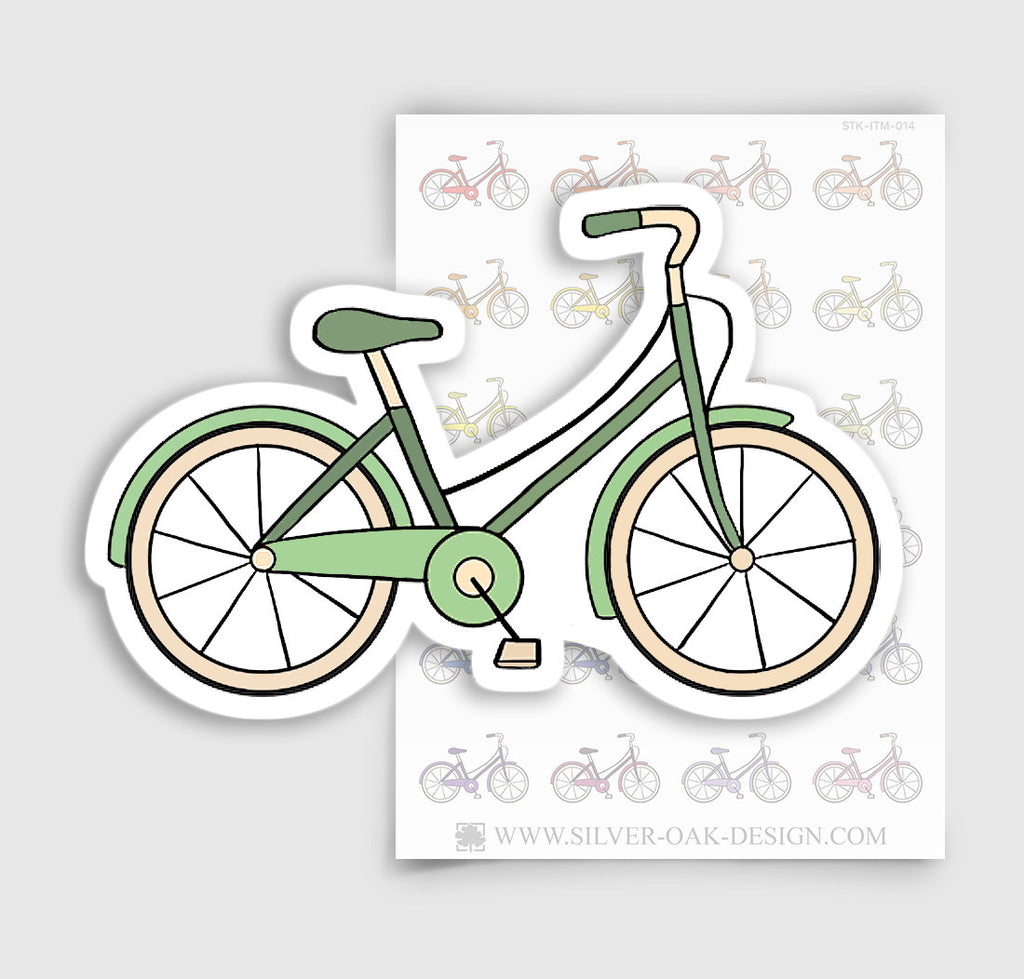 Bicycle Planner Stickers | ITM-014