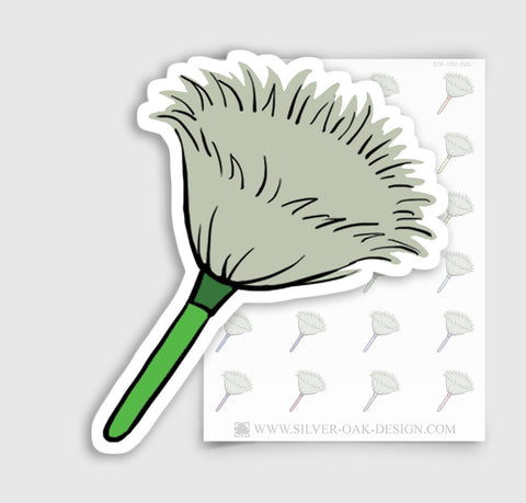 Feather Duster Planner Stickers | ITM-025