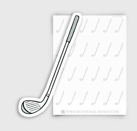 Golf Club Planner Stickers | ITM-051