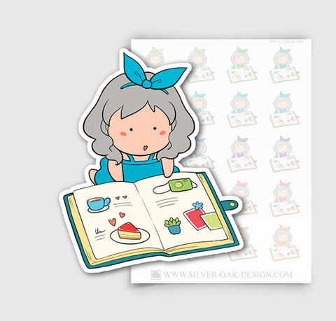 JSM-003-A | Jasmine Planning / Journal Custom Character Planner Stickers