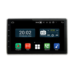 Plug and Play! 2 Din Android 10 OS 10.1 inch Capacitive Touch Screen Universal Autoradio Headunit, Built in 8 Core CPU 32G flash 4G DDR3 RAM, Supports Radio GPS Navigation 4G WIFI Bluetooth USB/SD DSP Carplay Steering Wheel Control. Optional Digital TV/Radio Receiver. Vehicle Multimedia Player System Head Unit.