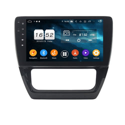 Android 9.0 OS DSP 10.1 Inch Touchscreen Auto GPS Navi for VW Sagitar/Jetta(2012-2016), 4GB RAM+32GB ROM, Car Stereo Bluetooth 4G WIFI Headunit - foyotech