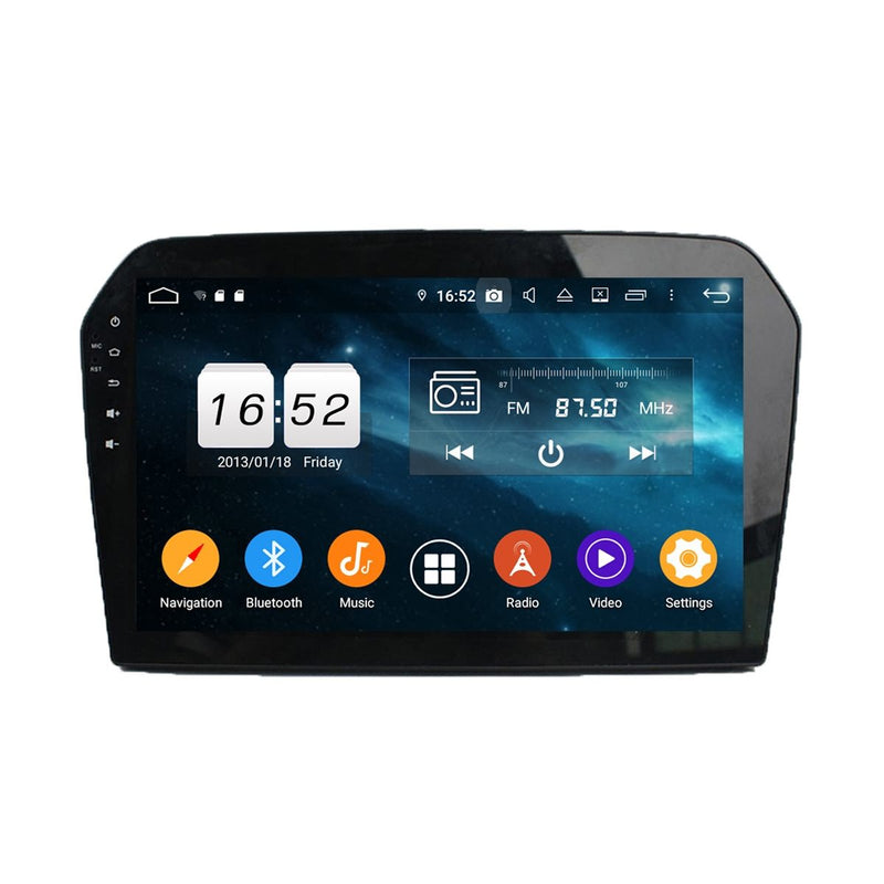 Android 9.0 Car GPS Navi Headunit for VW Jetta(2013-2017), 4GB RAM+32GB ROM, 10.1 Inch Touchscreen Stereo Bluetooth 4G WIFI DSP - foyotech