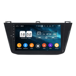 Android 9.0 DSP 10.1 Inch Touchscreen Auto GPS Navi for Volkswagen Tiguan(2016-2019), 4GB RAM+32GB ROM, Car Stereo Bluetooth 4G WIFI Headunit - foyotech