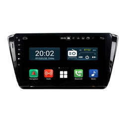 Android 10.0 1Din 10.1 Inch 1024x600 Touchscreen Autoradio Headunit for Skoda Superb 2015 2016 2017 2018 2019 2020, Octa Core 1.5GB CPU 32GB Flash 4GB DDR3 RAM, Car Stereo GPS Navigation 3G 4G WIFI Bluetooth USB DSP Carplay&Auto Steering Wheel Control. 1 Din Vehicle Touch Screen Multimedia Video Player System Head Unit.