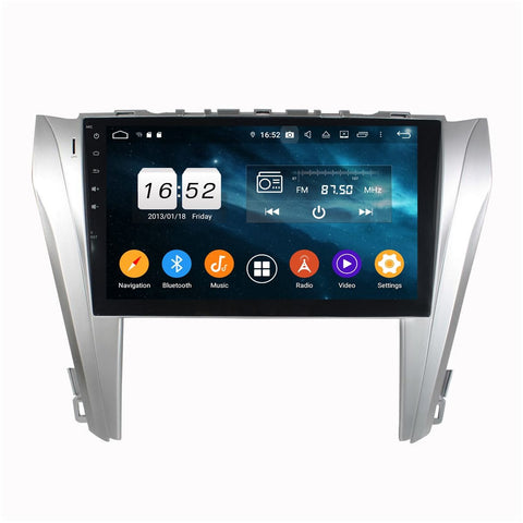 Android 9.0 Car GPS Navigation for Toyota Camry(2014-2017), 4GB RAM+32GB ROM, 10.1 Inch Touchscreen DSP Radio Stereo Bluetooth 4G WIFI - foyotech