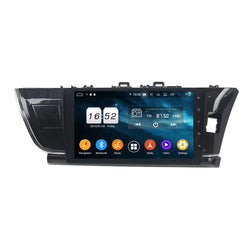 Android 9.0 Car GPS Navigation for Toyota Corolla/Auris(2014-2016) RHD, 4GB RAM+32GB ROM, 10.1 Inch Touchscreen DSP Radio Stereo Bluetooth 4G WIFI - foyotech