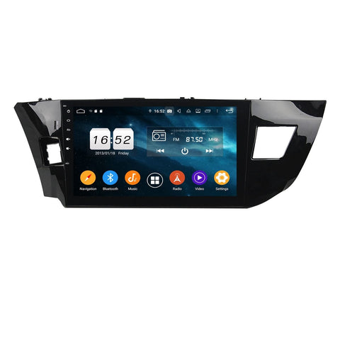 10.1 Inch Touchscreen Android 9.0 Car GPS Navigation for Toyota Levin(2013-2015) LHD, 4GB RAM+32GB ROM, DSP Radio Stereo Bluetooth 4G WIFI - foyotech