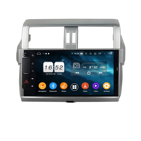 10.1 Inch Android 9.0 Auto GPS for Toyota Land Cruiser Prado(2014-2017), 4GB RAM+32GB ROM, DSP Touchscreen Car Radio Stereo Bluetooth 4G WIFI - foyotech