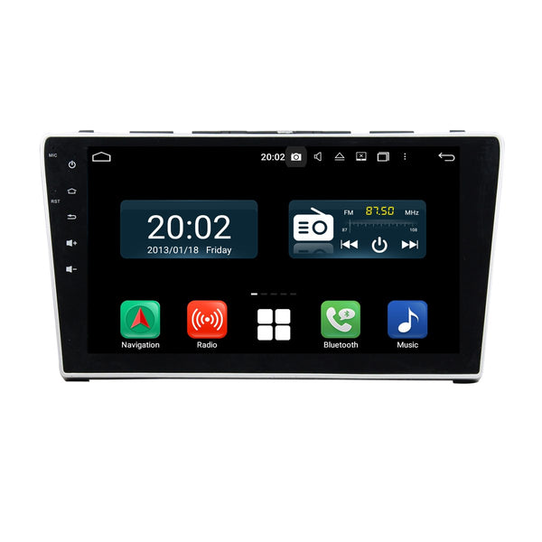 Android 10 2 Din 10.1 Inch 1024x600 Touchscreen Autoradio Headunit for Honda CRV 2006 2007 2008 2009 2010 2011, Octa Core 1.5GB CPU 32GB Flash 4GB DDR3 RAM, Auto Radio GPS Navigation 3G 4G WIFI Bluetooth USB DSP Carplay&Auto Steering Wheel Control. 2Din Vehicle Touch Screen Multimedia Video Player System Head Unit.