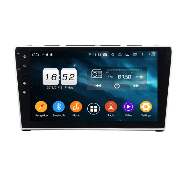 Car Radio Headunit for Honda CR-V(2006-2011), 4GB RAM+32GB ROM, 10.1 Inch Touchscreen Android 9.0 DSP GPS Navigation Stereo Bluetooth 4G WIFI - foyotech