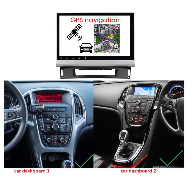 Android 10 Single Din 9 Inch 1024x600 Touchscreen Autoradio Headunit for Opel Astra J 2010 2011 2012 2013 2014, Octa Core 1.5GB CPU 32GB Flash 4GB DDR3 RAM, Auto Stereo GPS Navigation 3G 4G WIFI Bluetooth USB DSP Carplay&Auto Steering Wheel Control. 1Din Vehicle Touch Screen Multimedia Video Player System Head Unit.