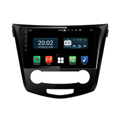 Android 10.0 Double Din 10.1 Inch Touchscreen Autoradio Headunit for Nissan Qashqai/X-trail/Rogue Sport 2013 2014 2015 2016 2017 2018 2019 2020, Octa Core 1.5GB CPU 32GB Flash 4GB DDR3 RAM, Auto Radio GPS Navigation 3G 4G WIFI Bluetooth USB DSP Carplay&Auto Steering Wheel Control. Vehicle Touch Screen Multimedia Video Player System Head Unit.
