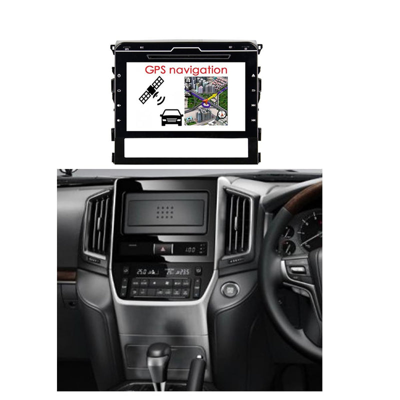 10.1 Inch Touchscreen Android 9.0 Auto GPS for Toyota Land Cruiser(2016-2020), 4GB RAM+32GB ROM, DSP Car Radio Stereo Bluetooth 4G WIFI - foyotech