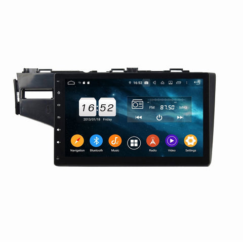 10.1 Inch Touchscreen Car Radio for Honda Fit/Jazz(2014-2019) LHD, 4GB RAM+32GB ROM, Android 9.0 DSP GPS Navigation Stereo Bluetooth 4G WIFI - foyotech