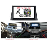 10.1 Inch Touchscreen Android 9.0 Car Radio for Honda Accord 8(2008-2014), 4GB RAM+32GB ROM, DSP GPS Navigation Stereo Bluetooth 4G WIFI - foyotech