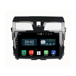 Android 10 2 Din 10.1 Inch 1024x600 Touchscreen Autoradio Headunit for Nissan Teana/Altima 2013 2014 2015 2016, Octa Core 1.5GB CPU 32GB Flash 4GB DDR3 RAM, Auto Radio GPS Navigation 3G 4G WIFI Bluetooth USB DSP Carplay&Auto Steering Wheel Control. 2Din Vehicle Touch Screen Multimedia Video Player System Head Unit.
