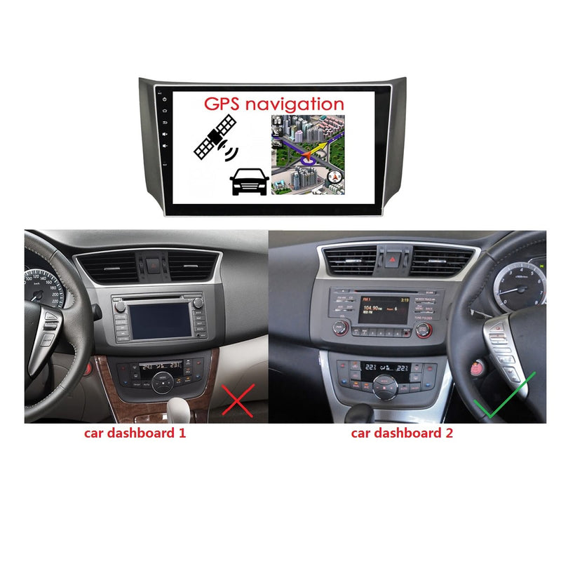 Android 10 Double Din 10.1 Inch Touchscreen Autoradio Headunit for Nissan Sylphy/Sentra/Pulsar 2012 2013 2014 2015 2016, Octa Core 1.5GB CPU 32GB Flash 4GB DDR3 RAM, Auto Radio GPS Navigation 4G WIFI Bluetooth USB DSP Carplay&Auto Steering Wheel Control. 2 Din Vehicle Touch Screen Multimedia Video Player System Head Unit