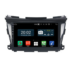 Android 10 2 Din 10.1 Inch 1024x600 Touchscreen Autoradio Headunit for Nissan Murano 2015 2016 2017 2018 2019 2020, Octa Core 1.5GB CPU 32GB Flash 4GB DDR3 RAM, Auto Radio GPS Navigation 3G 4G WIFI Bluetooth USB DSP Carplay&Auto Steering Wheel Control. 2Din Vehicle Touch Screen Multimedia Video Player System Head Unit.