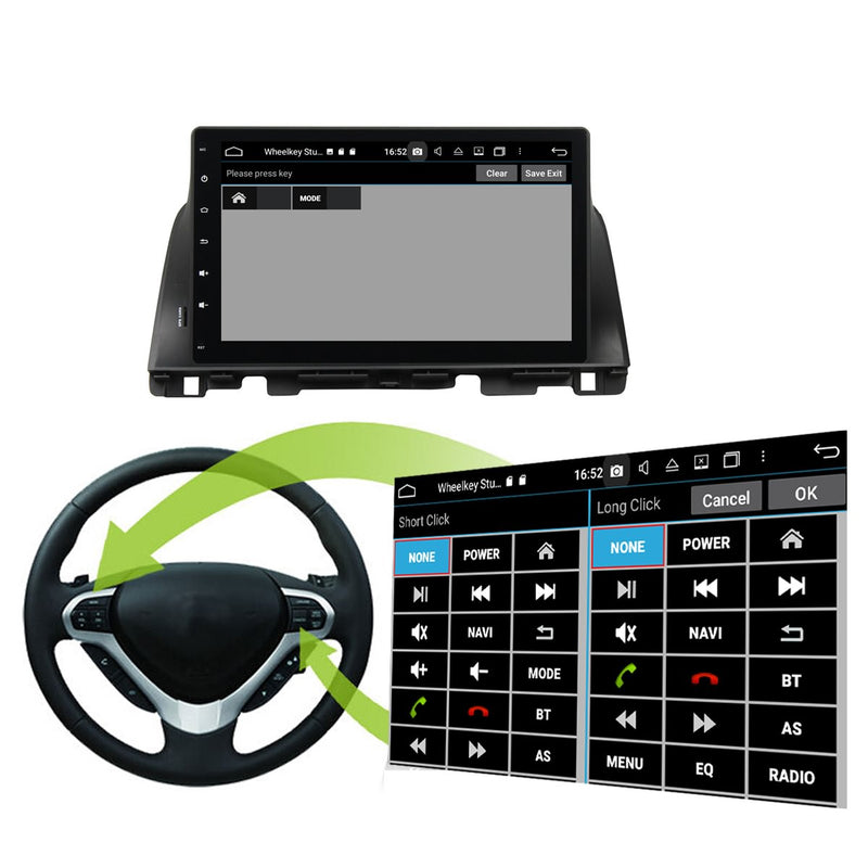 Android 10 Single Din 10.1 Inch Touchscreen Autoradio Headunit for Kia K5/Optima 2015 2016 2017 2018 2019 2020, Octa Core 1.5GB CPU 32GB Flash 4GB DDR3 RAM, Auto Radio GPS Navigation 4G WIFI Bluetooth USB DSP Carplay&Auto Steering Wheel Control. 1Din Vehicle Touch Screen Multimedia Video Player System Head Unit.
