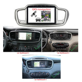 Android 10 Double Din 10.1 Inch Touchscreen Autoradio Headunit for Kia Sorento 2015 2016 2017 2018 2019 2020, Octa Core 1.5GB CPU 32GB Flash 4GB DDR3 RAM, Auto Radio GPS Navigation 4G WIFI Bluetooth USB DSP Carplay&Auto Steering Wheel Control. 2Din Vehicle Touch Screen Multimedia Video Player System Head Unit.