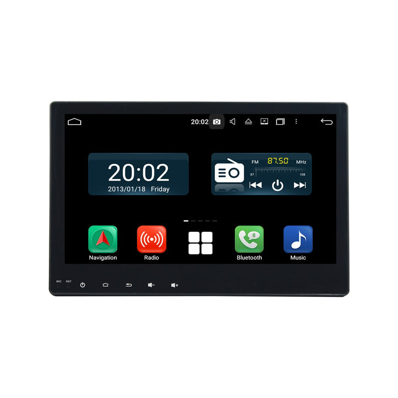 Android 10 1 Din 10.1 Inch 1024x600 Touchscreen Autoradio Headunit for Toyota Hilux 2015 2016 2017, Octa Core 1.5GB CPU 32GB Flash 4GB DDR3 RAM, Auto Radio GPS Navigation 3G 4G WIFI Bluetooth USB DSP Carplay&Auto Steering Wheel Control. 1Din Vehicle Touch Screen Multimedia Video Player System Head Unit.