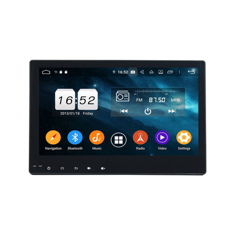 10.1 Inch Android 9.0 Car Radio for Toyota Hilux(2015-2017), 4GB RAM+32GB ROM, Touchscreen DSP GPS Navigation Stereo Bluetooth 4G WIFI - foyotech