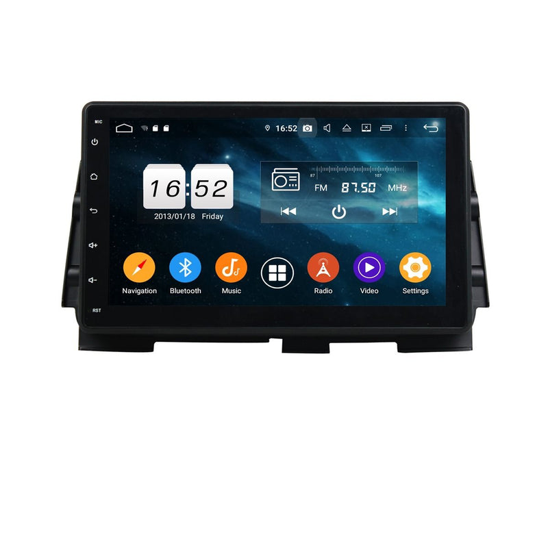 Android 9.0 Auto Stereo for Nissan Kicks(2016-2020), 10.1 Inch Touchscreen Car Radio GPS Navigation DSP Bluetooth 4G WIFI, 4GB RAM+32GB ROM - foyotech