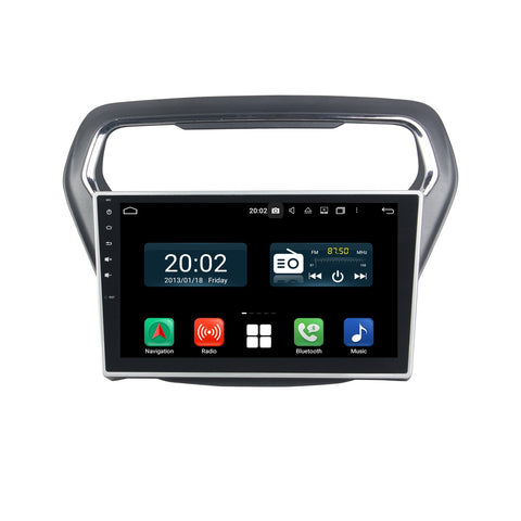 Android 10 1 Din 10.1 Inch 1024x600 Touchscreen Autoradio Headunit for Ford Escort 2014 2015 2016 2017, Octa Core 1.5GB CPU 32GB Flash 4GB DDR3 RAM, Auto Radio GPS Navigation 3G 4G WIFI Bluetooth USB DSP Carplay&Auto Steering Wheel Control. 1Din Vehicle Touch Screen Multimedia Video Player System Head Unit.